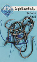 Picture of Catfish Pro Eagle Wave Hooks Barbless
