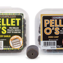 Picture of Sonubaits Pre Drilled Pellet O's 120g