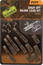 Picture of FOX Edges Drop Off Inline Lead Kit Camo
