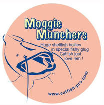 Picture of Catfish Pro Moggie Munchers 24mm 250g Tub
